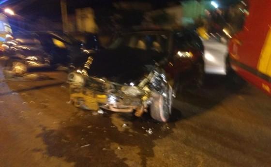 Três pessoas ficam feridas em acidente na BR 277, em São Miguel do Iguaçu
