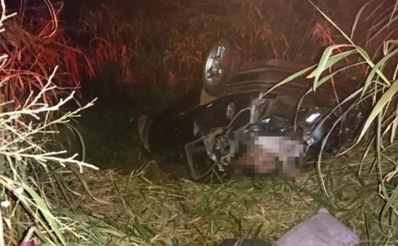 Uma pessoa morreu após um acidente na rodovia PR 495, entre Medianeira e Missal.