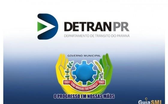 Unidade do Detran será reaberta para atendimento em São Miguel do Iguaçu