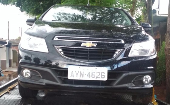 Veículo roubado no interior de Missal é recuperado em Foz do Iguaçu